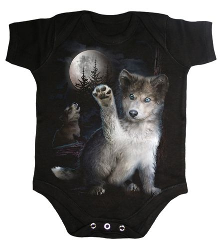 Baby Body Wolfs Welpe