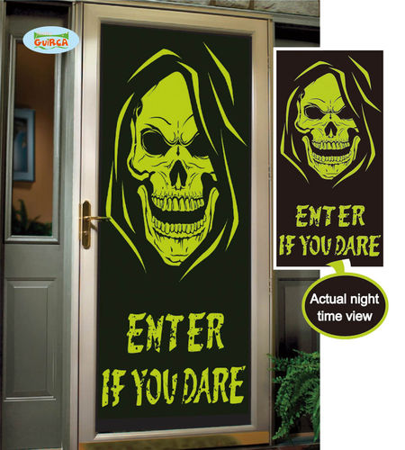 Skull Door decoration