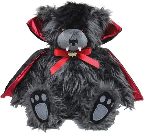 Decorative cuddly toy vampire bear Ted the impaler