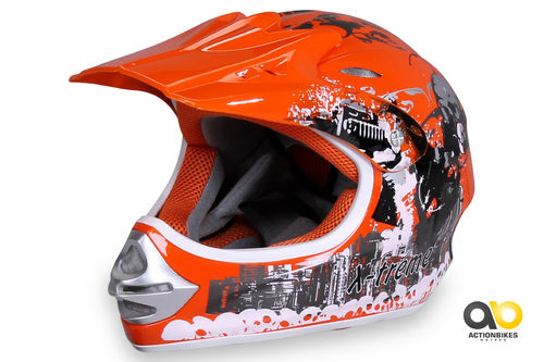 Kinder Cross Helm X-treme
