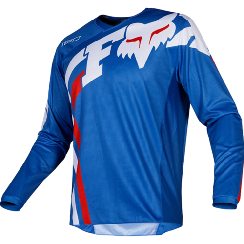 FOX MX Youth 180 Cota Jersey blau
